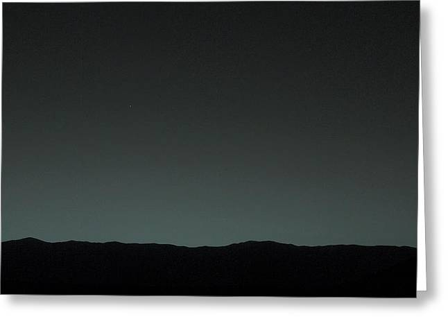 Earth From Mars Greeting Card