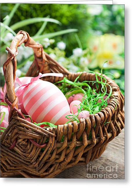 Easter Concept Greeting Card by Mythja  Photography