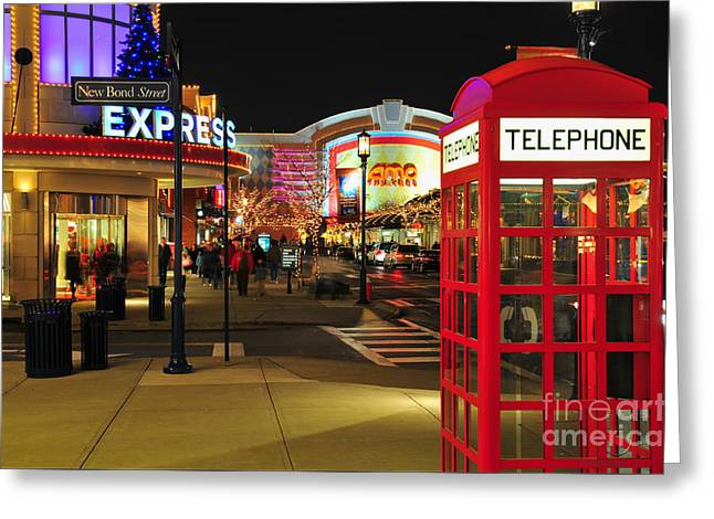 D65l-162 Easton Town Center Photo Greeting Card