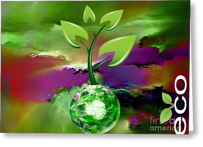 Eco Living Greeting Card