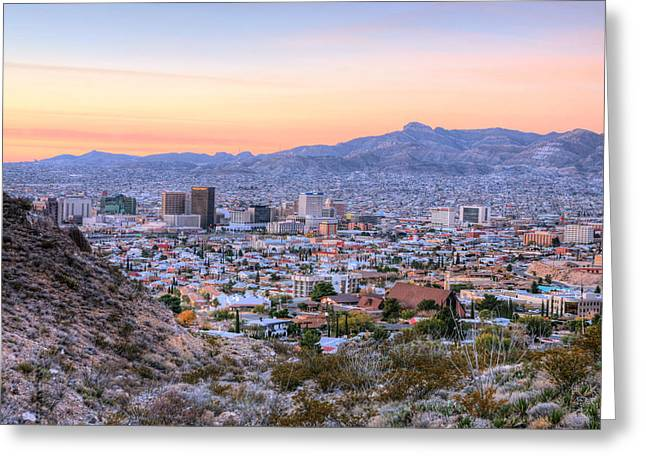 El Paso Greeting Card by JC Findley