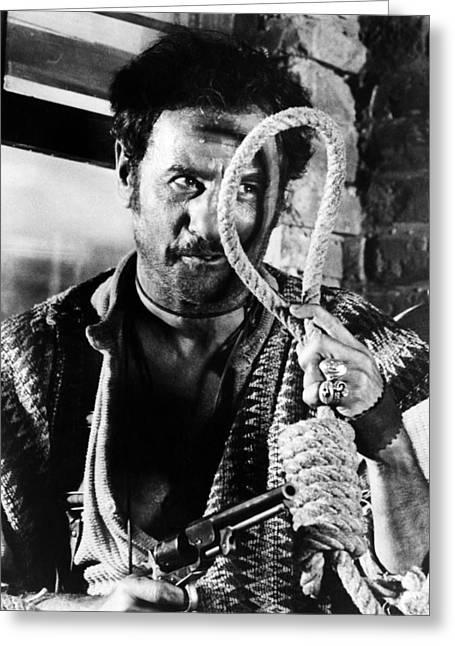 Eli Wallach In Il Buono, Il Brutto, Il Cattivo.  Greeting Card by Silver Screen