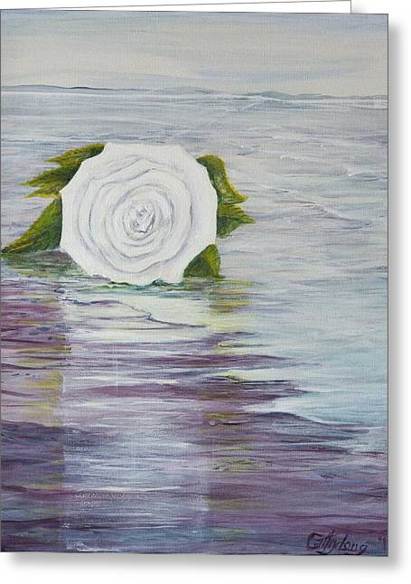 Greeting Card featuring the painting Ellen Of Yorkshire by Cathy Long