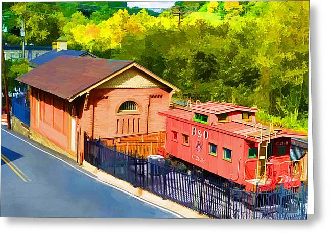 Ellicott City Station Greeting Card