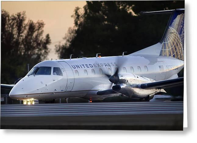 Embraer Emb-120er  Greeting Card by James David Phenicie