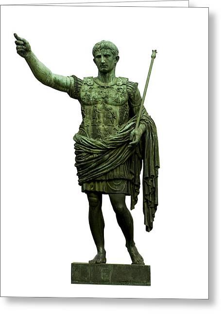 Emperor Caesar Augustus Greeting Card