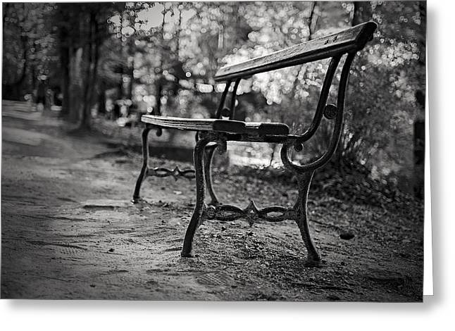 Greeting Card featuring the photograph Emptiness by Antonio Jorge Nunes