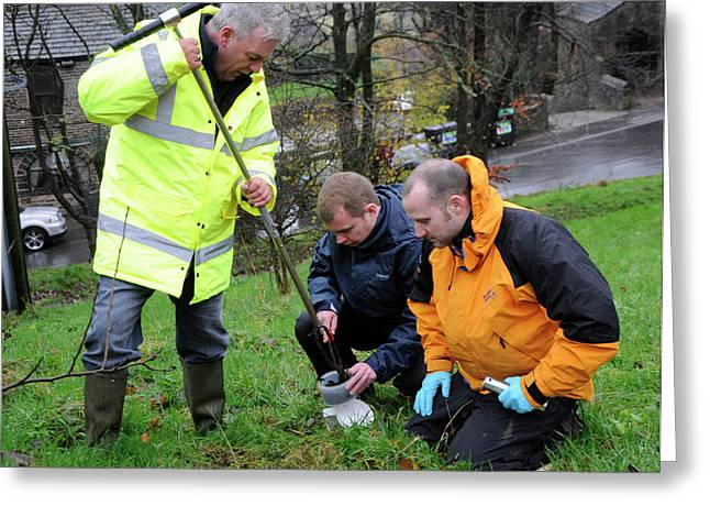 Environmental Soil Monitoring Greeting Card by Public Health England