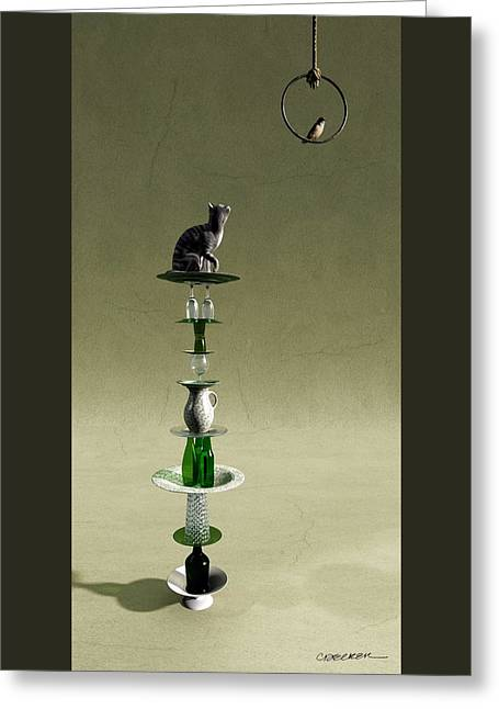 Equilibrium IIi Greeting Card