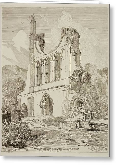 Etchings By John Sell Cotman Greeting Card