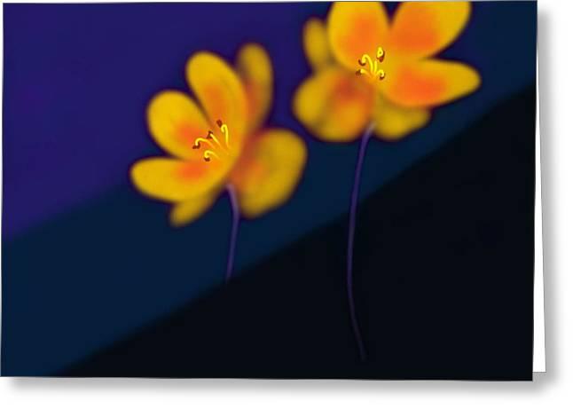 Greeting Card featuring the digital art Eternal by Latha Gokuldas Panicker