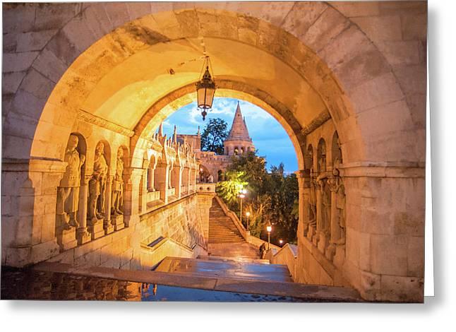 Europe, Hungary, Budapest, Buda Greeting Card
