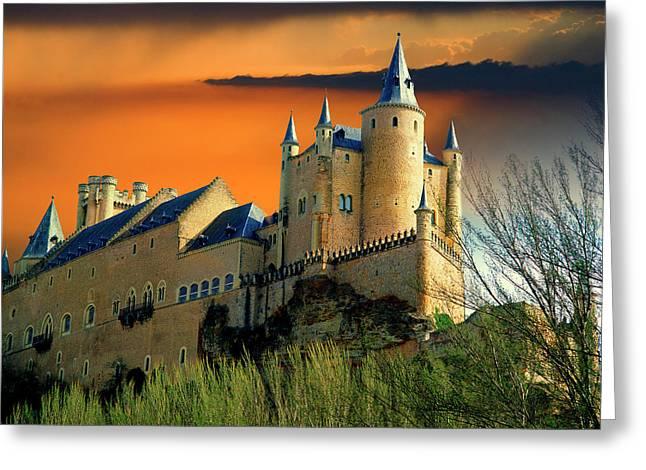 Europe, Spain, Segovia Greeting Card by Jaynes Gallery