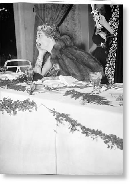 Evalyn Walsh Mclean (1886-1947) Greeting Card