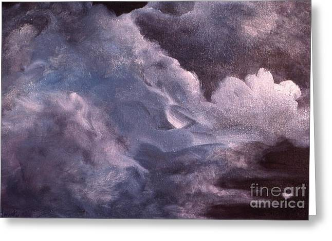 Evening Clouds Greeting Card