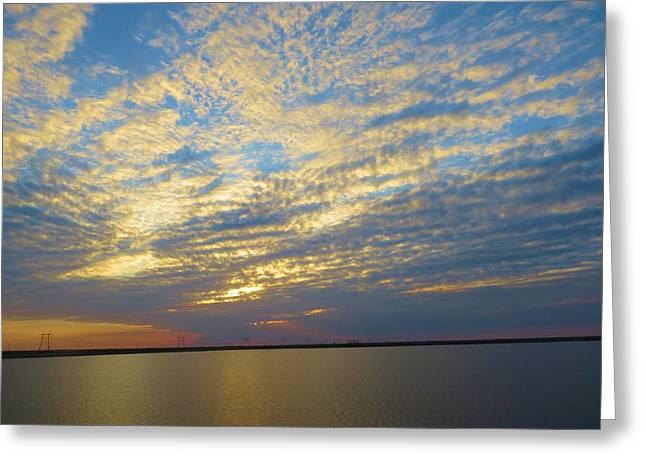 Everglades Sunset Greeting Card