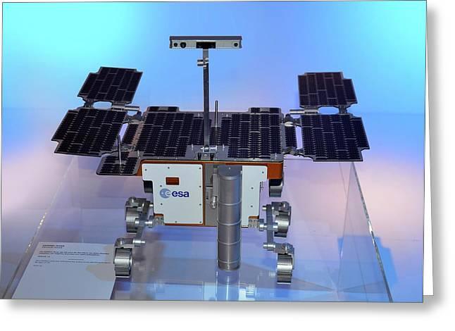 Exomars Rover Greeting Card