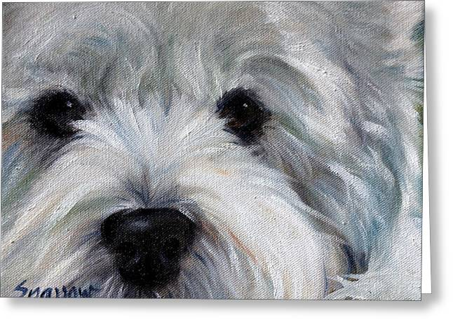 Eyes For You Greeting Card by Mary Sparrow