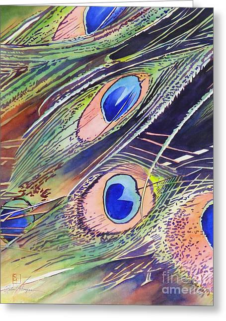 Eyes Of The Stars Greeting Card