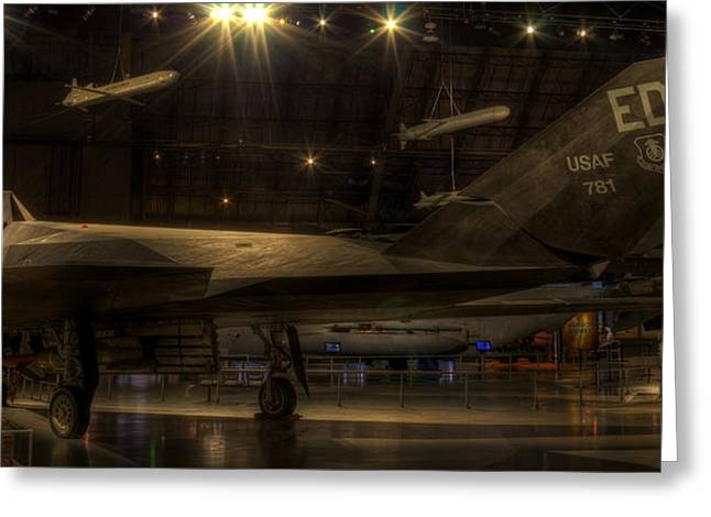 F-117 Stealth Fighter Greeting Card