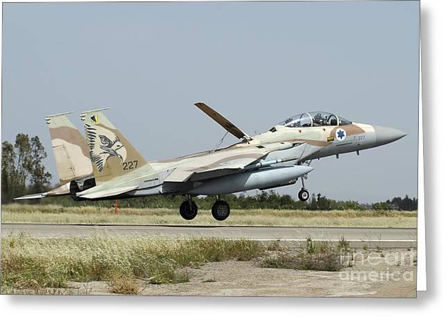 F-15i Raam From The Israeli Air Force Greeting Card