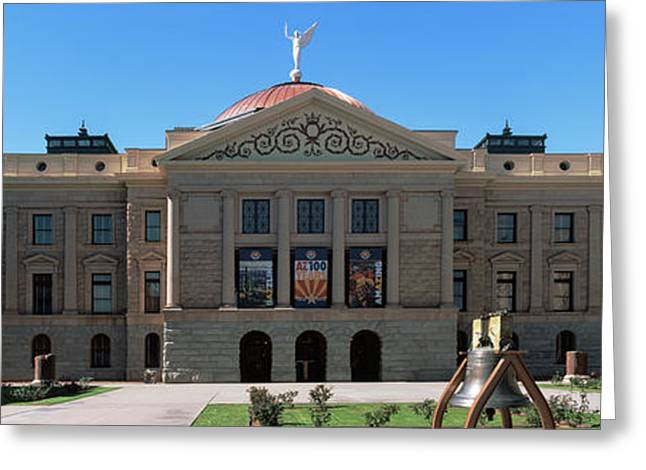 Facade Of The Arizona State Capitol Greeting Card