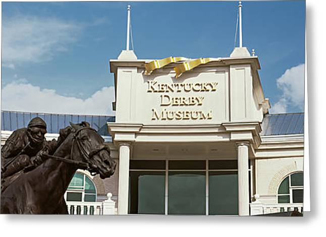 Facade Of The Kentucky Derby Museum Greeting Card