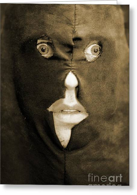 Face Of Fear Greeting Card by Jorgo Photography - Wall Art Gallery