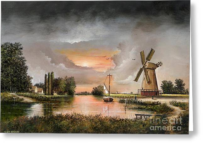 Fairhaven Mill Greeting Card