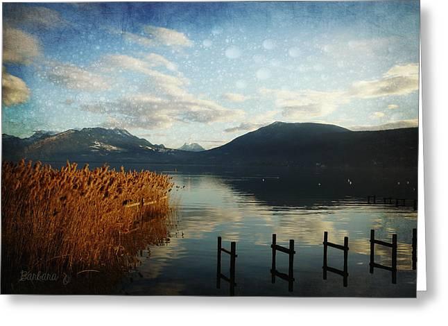 Greeting Card featuring the photograph Fairies Lake by Barbara Orenya