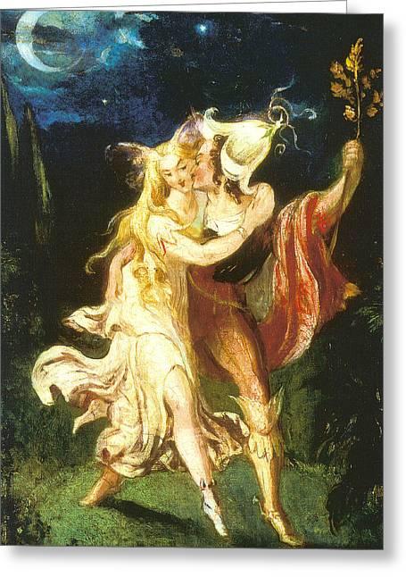 Fairy Lovers Greeting Card
