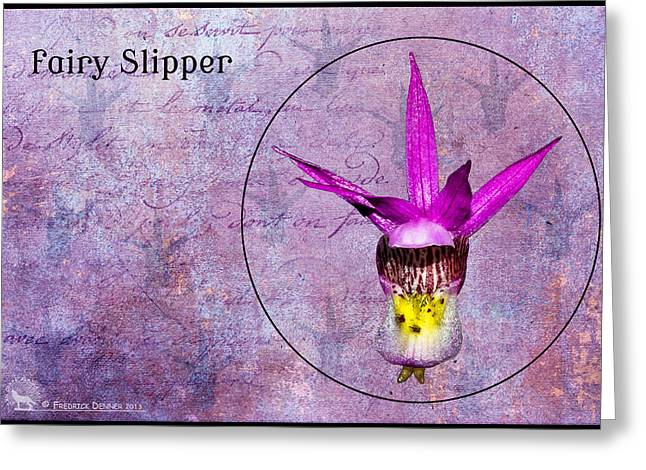 Fairy Slipper Greeting Card