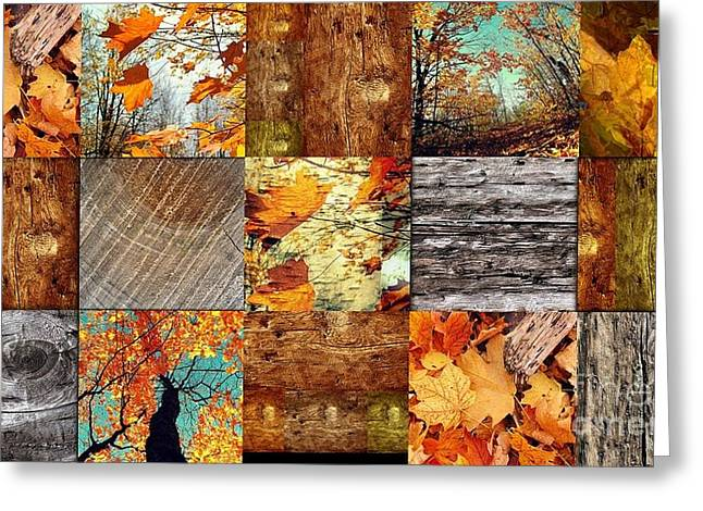 Fall  Greeting Card by France Laliberte