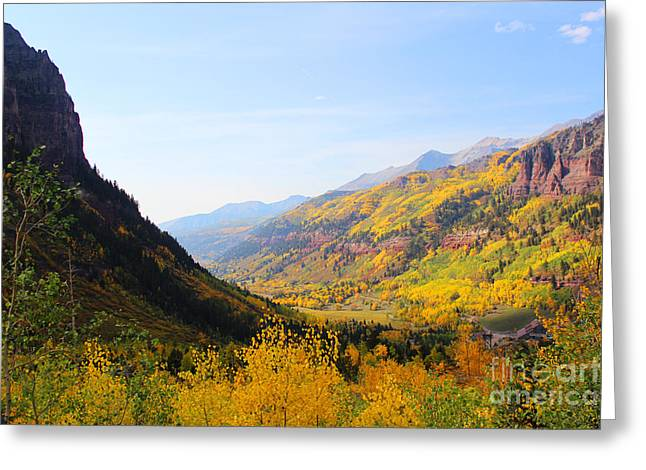Fall In Telluride Greeting Card