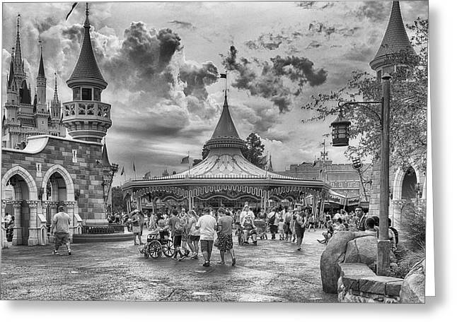 Greeting Card featuring the photograph Fantasyland by Howard Salmon