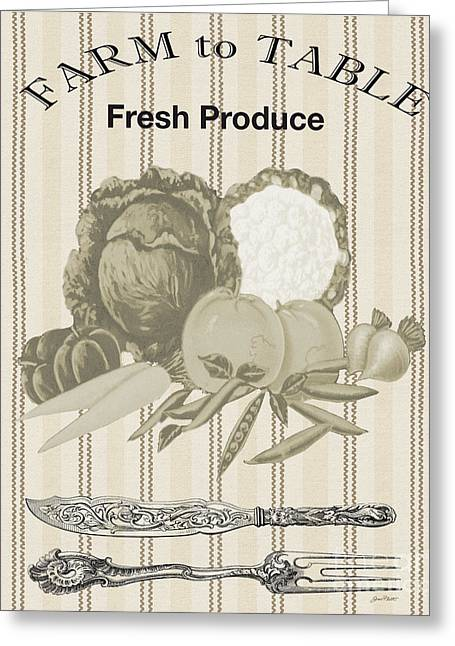 Farm To Table-jp2124 Greeting Card