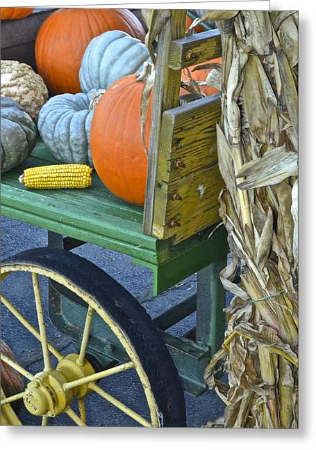Farmers Market Greeting Card by Frozen in Time Fine Art Photography