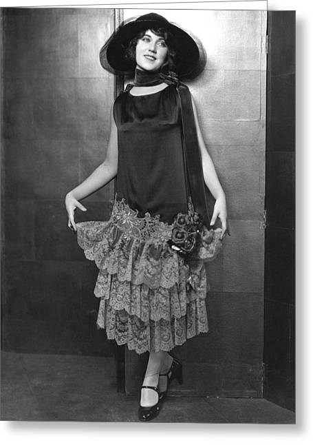 Fay Wray Greeting Card by Silver Screen