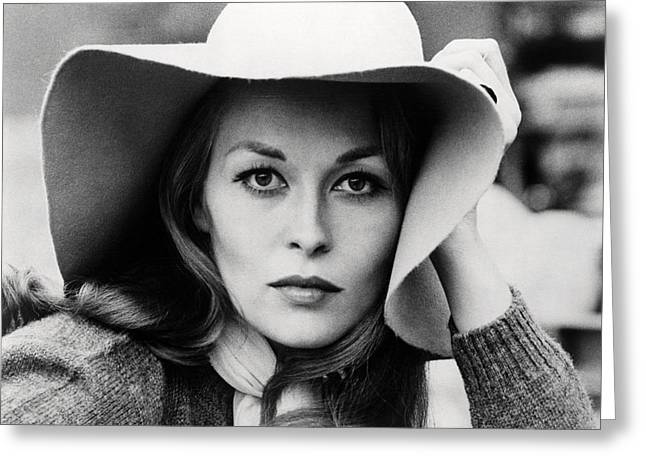 Faye Dunaway In Network  Greeting Card by Silver Screen