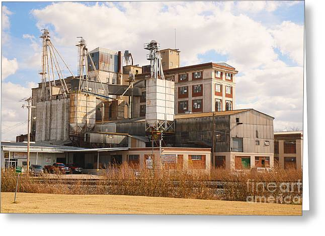 Feed Mill Greeting Card