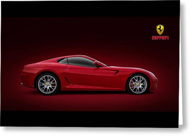 Ferrari 599 Gtb Greeting Card