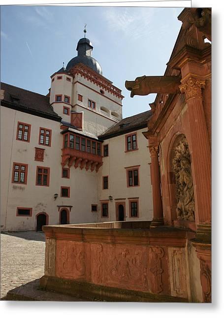 Festung Marienberg Greeting Card