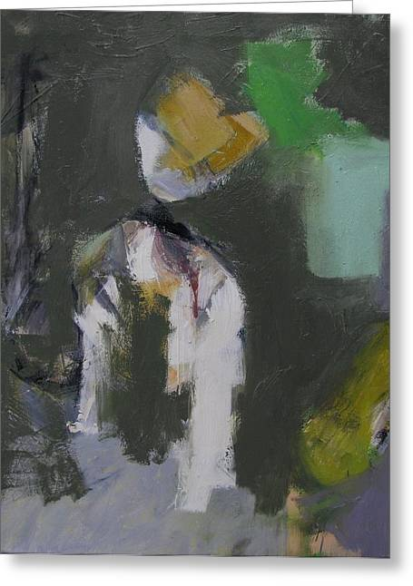 Figures Greeting Card by Fred Smilde