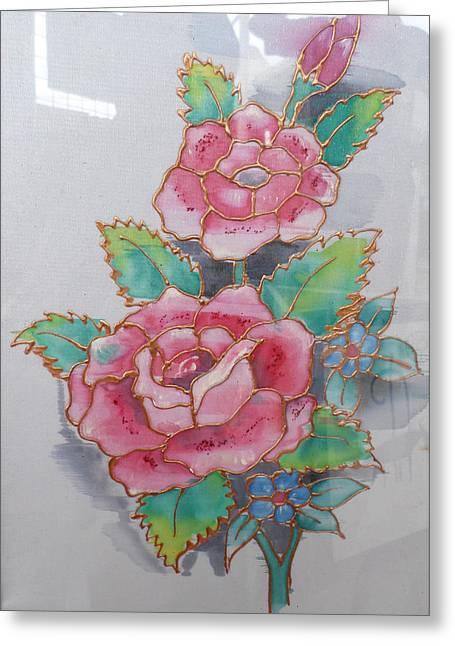 Fine Art Rose Greeting Card