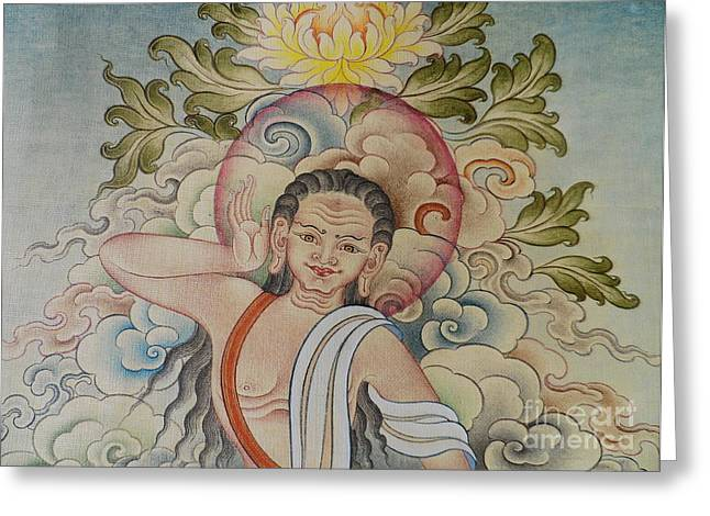 Fine Milarepa Greeting Card