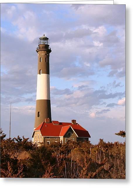 Fire Island Lighthouse Greeting Card
