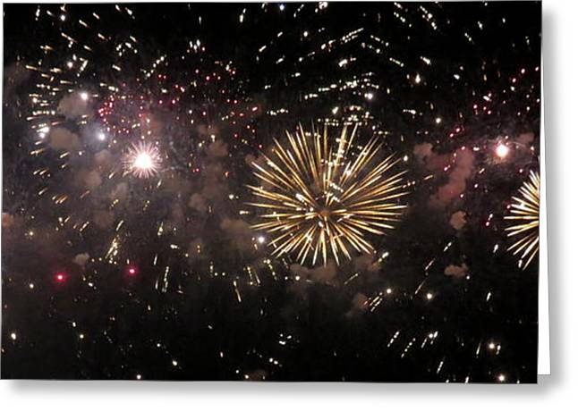 Fireworks 14 Greeting Card by France Laliberte
