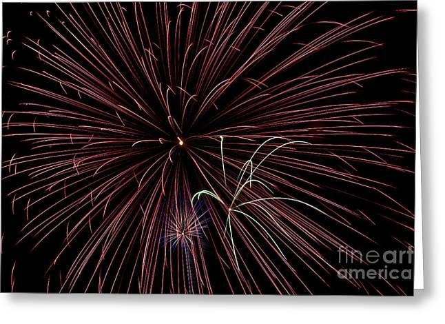 Fireworks Greeting Card by Jason Meyer