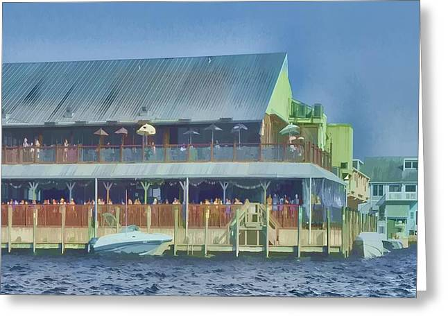 Fisherman's Village Greeting Card