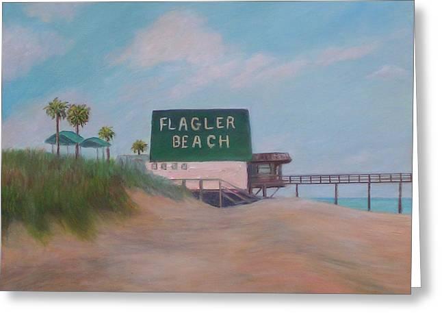 Flagler Beach Florida Greeting Card